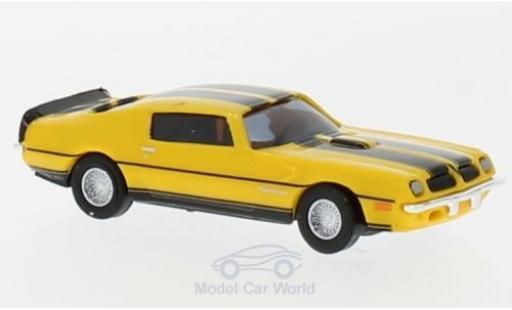 Pontiac Firebird 1/87 Busch TransAm jaune/noire 1974 miniature