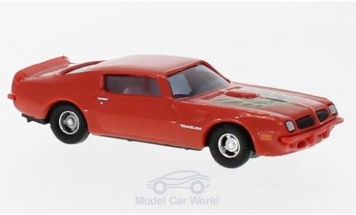 Pontiac Firebird 1/87 Busch TransAm rouge/Dekor 1974 miniature