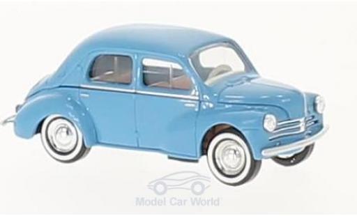 Renault 4CV 1/87 Busch bleue 1958 miniature