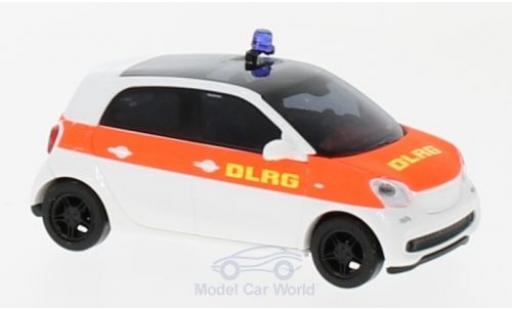 Smart ForFour 1/87 Busch Forfour DLRG 2014 miniature