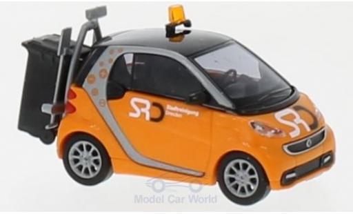 Smart ForTwo 1/87 Busch Fortwo Coupe Stadtreinigung Dresden 2012 miniature