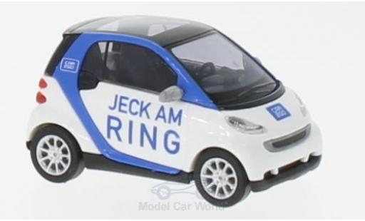 Smart ForTwo 1/87 Busch Fortwo Jeck am Ring 2007 Car2go miniature