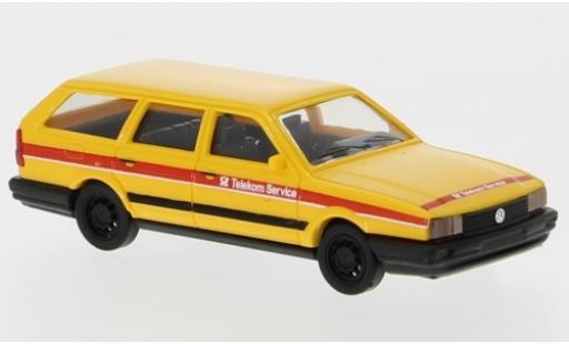 Volkswagen Passat 1/87 Busch Variant Telekom Service miniature