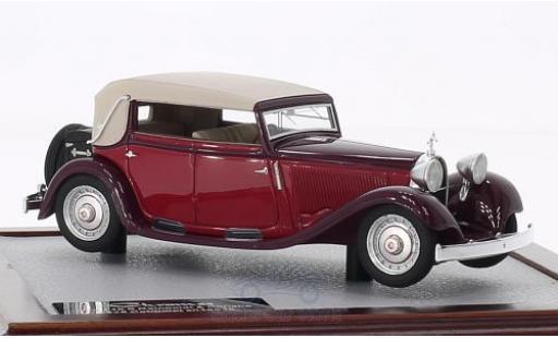 Bugatti 46 1/43 Chromes TS Reinboldt & Christie Carbriolet rouge/rouge 1929 sn525 miniature