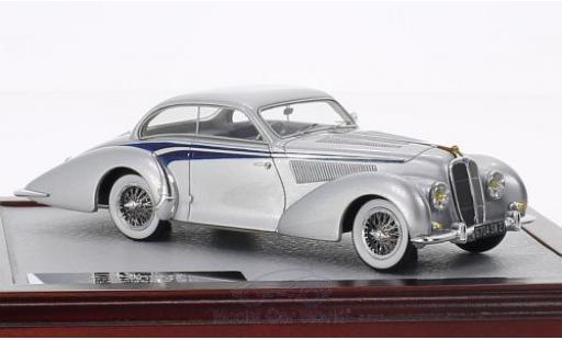 Delahaye 135 1/43 Chromes MS Coupé Langenthal grise/bleue 1947 sn800490 miniature