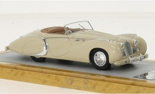 Talbot Lago 1/43 Chromes T26 Cabriolet Grand Sport Saoutchik beige RHD 1950 sn110120 miniature