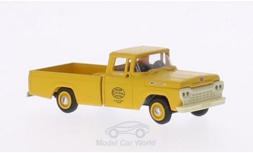 Ford F-1 1/87 Classic Metal Works 00 New York Central System 1960 mit Hy-Line-Gleisaufsatzrädern miniature