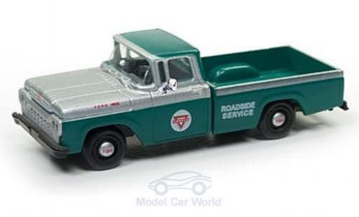 Ford F-1 1/87 Classic Metal Works 00 Pick Up verte/grise Conoco Service 1960 miniature