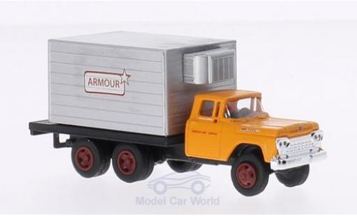Ford F-500 1/87 Classic Metal Works Box Truck Armour Foods 1960 miniature
