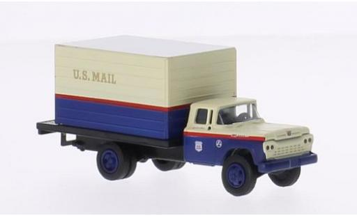 Ford F-500 1/87 Classic Metal Works Box Truck US Mail 1960 miniature