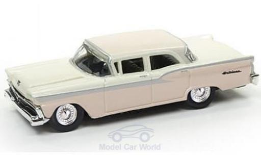 Ford Fairlane 1/87 Classic Metal Works beige/rose 1959 miniature