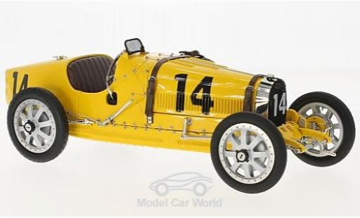 Bugatti 35 1/18 CMC T Grand Prix No.14 Nation Colour Projekt Belgien ohne Vitrine miniature