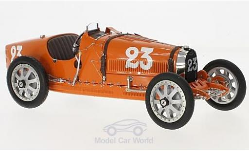 Bugatti 35 1/18 CMC T Grand Prix No.23 Nation Colour Projekt Niederlande miniature