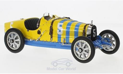 Bugatti 35 1/18 CMC T Grand Prix No.5 Nation Colour Projekt Schweden miniature