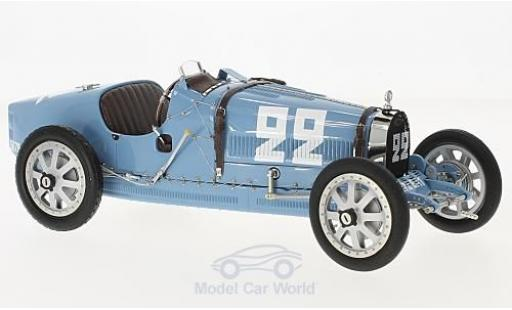 Bugatti 35 1/18 CMC T Grand Prix No.99 Nation Colour Projekt Frankreich ohne Vitrine miniature