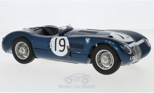 Jaguar C-Type 1/18 CMC RHD No.19 Ecurie Ecosse Goodwood Members Meeting 1954 J.Stewart miniature