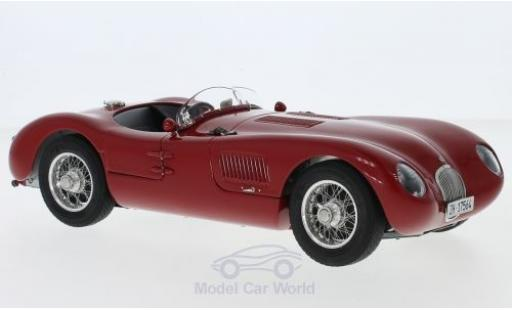 Jaguar C-Type 1/18 CMC rouge RHD 1952 XKC 023 aktueller Zustand Dr. Christian Jenny miniature