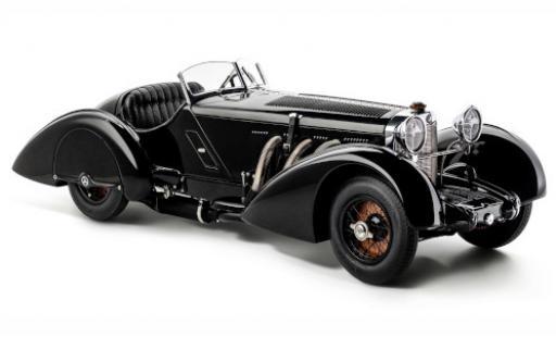 Mercedes SSK 1/18 CMC Trossi black 1934 Schwarzer Prinz diecast model cars