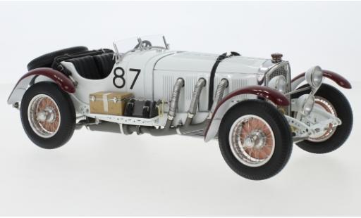 Mercedes SSK 1/18 CMC L No.87 Mille Miglia 1931 R.Caracciola diecast model cars