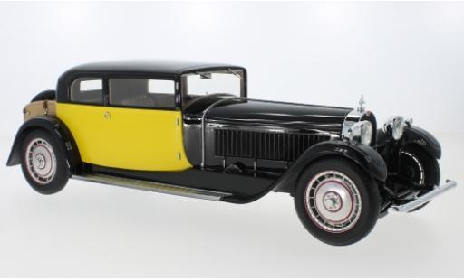 Bugatti 41 1/18 CMF Type Royale Coach by Weymann noire/jaune RHD 1929 miniature