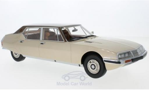 Citroen SM 1/18 CMF Opera by Henri Chapron metallise beige/metallise brown 1972 diecast model cars