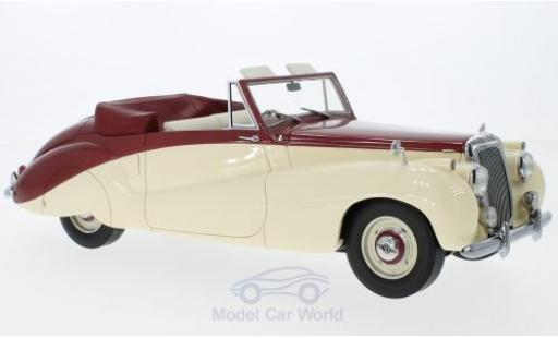 Daimler DB18 1/18 CMF Special Sports by Barker metallise rouge/beige RHD 1952 miniature