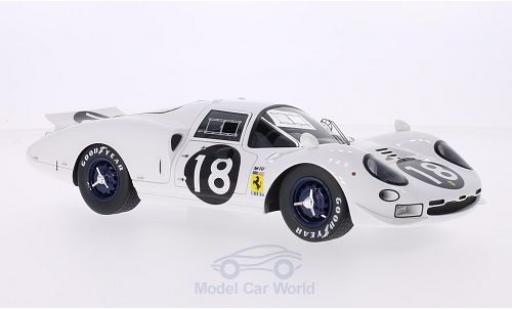 Ferrari 365 1/18 CMF P2 Elefante RHD No.18 N.A.R.T. 24h Le Mans 1966 M.Gregory/B.Bondurant miniature