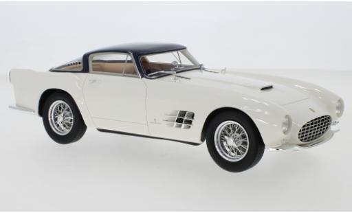 Ferrari 375 1/18 CMF MM Berlinetta by Pinin Farina blanco/metallise azul RHD 1955 coche miniatura