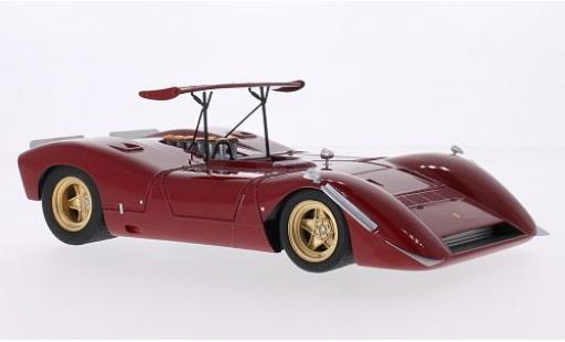 Ferrari 612 1/18 CMF Can Am rosso Plain Body Version modellino in miniatura