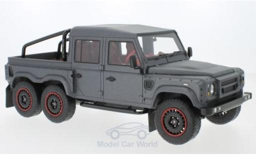 Land Rover Defender 1/18 CMF Flying Huntsman 6x6 matt-dunkelgrise RHD 2015 miniature