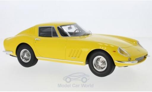Ferrari 275 1965 1/18 CMR GTB yellow diecast model cars