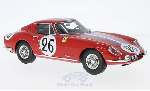 Ferrari 275 1966 1/18 CMR GTB No.26 24h Le Mans 1966 G.Biscaldi/M.de Bourbon-Parma miniature