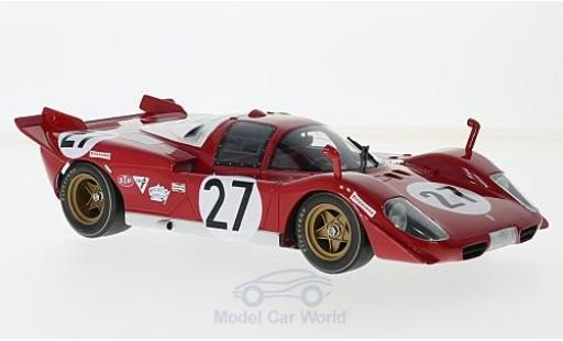 Ferrari 512 1/18 CMR S No.27 24h Daytona 1970 J.Ickx/P.Schetty miniature