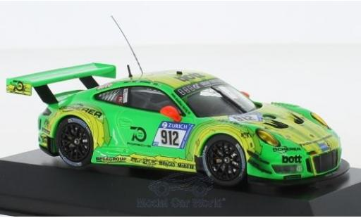 Porsche 991 GT3 R 1/43 CMR 911  No.912 Manthey 24h Nürburgring 2018 R.Lietz/P.Pilet/F.Makowiecki/N.Tandy miniature