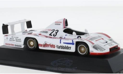 Porsche 936 1/43 CMR No.23 Kremer Racing Meisterfoto Farbbilder DRM Hockenheim 1982 mit Decals S.Bellof miniature
