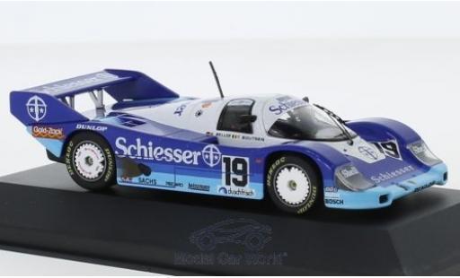 Porsche 956 1985 1/43 CMR B No.19 Brun Schiesser 1000 Km Hockenheim S.Bellof/T.Boutsen miniature