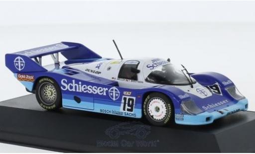 Porsche 956 1985 1/43 CMR B No.19 Brun Schiesser 1000 Km Spa S.Bellof/T.Boutsen miniature