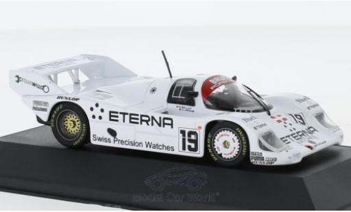 Porsche 956 1/43 CMR K No.19 Brun Eterna 1000 Km Brands Hatch 1984 S.Bellof/H.Grohs miniature