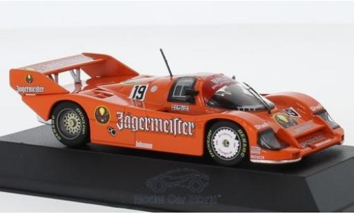 Porsche 956 1984 1/43 CMR K No.19 Brun Jägermeister 1000 Km Imola S.Bellof/H-J.Stuck miniature