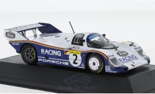 Porsche 956 1983 1/43 CMR K No.2 1000 Km Nürburgring S.Bellof miniature