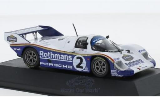 Porsche 956 1/43 CMR K No.2 Rothmans 1000 Km Sandown Park 1984 S.Bellof/D.Bell miniature