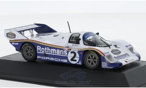 Porsche 956 1984 1/43 CMR K No.2 Rothmans 1000 KM Silverstone S.Bellof/D.Bell miniature