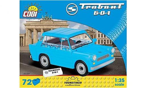 Trabant 601 1/35 Cobi bleue Bausteine Anzahl le Blöcke: 72 miniature