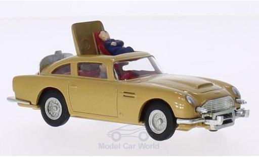 Aston Martin DB5 1/0 Corgi gold RHD James Bond mit 2 Figuren und Funktionen ca. 10 cm lang miniature