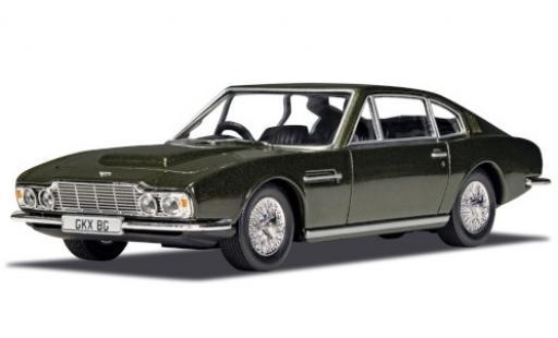 Aston Martin DBS 1/36 Corgi metallise green RHD James Bond 007 On Her Majestys Secret Service diecast model cars