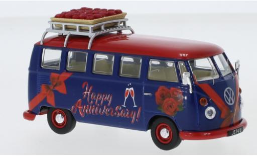 Volkswagen T1 1/43 Corgi Camper RHD Happy Anniversary avec Rack de toit et charge modellautos