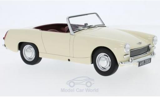Austin Healey Sprite 1/18 Cult Scale Models MK II blanche RHD 1961 miniature