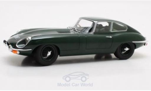 Jaguar E-Type 1/18 Cult Scale Models Coupe Series 2 verte RHD 1968 miniature