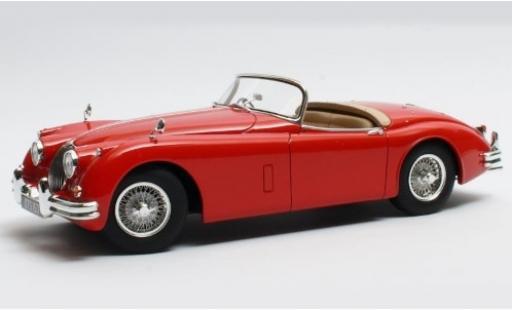 Jaguar XK 1/18 Cult Scale Models 150 OTS rouge RHD 1958 miniature