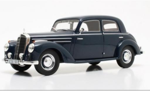 Mercedes 220 1/18 Cult Scale Models (W187) bleue 1953 miniature